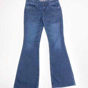 American Eagle Artist Jeans Dark Wash 14 X-Long